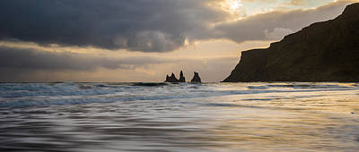 Poster featuring the photograph Reynisdrangar by James Billings