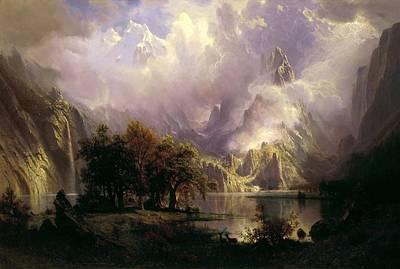 Rocky Mountain Landscape Poster