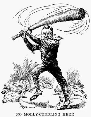 Roosevelt Cartoon, 1904 Poster by Granger