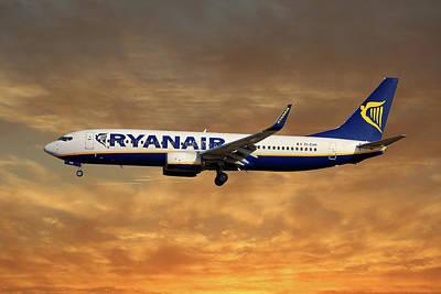 Ryanair Boeing 737-8as Poster