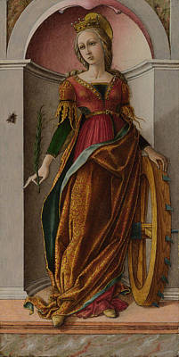 Saint Catherine Of Alexandria Poster by Carlo Crivelli