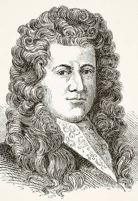 Samuel Pepys 1633 To 1703 English Poster by Vintage Design Pics