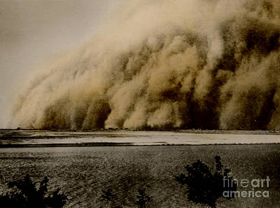 Sandstorm, Sudan, 1906 Poster by Science Source