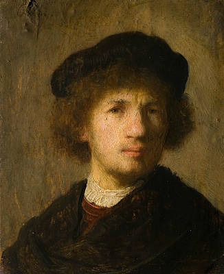 Self-portrait Poster by Rembrandt