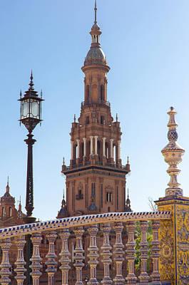 Seville - Plaza De Espana  Poster by Andrea Mazzocchetti
