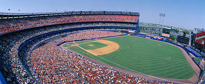 Shea Stadium, Ny Mets V. Sf Giants, New Poster by Panoramic Images