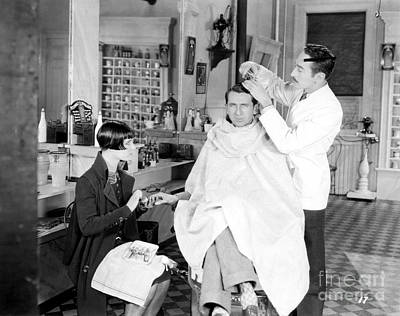 Silent Still: Barber Shop Poster