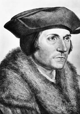 Sir Thomas More (1478-1535) Poster by Granger