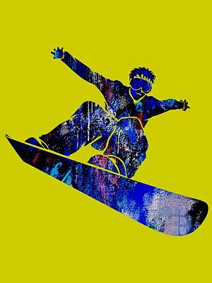 Snowboarder Collection Poster