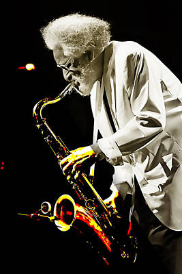 Sonny Rollins Collection Poster by Marvin Blaine