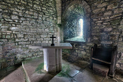 St Adhelm's Chapel - England Poster