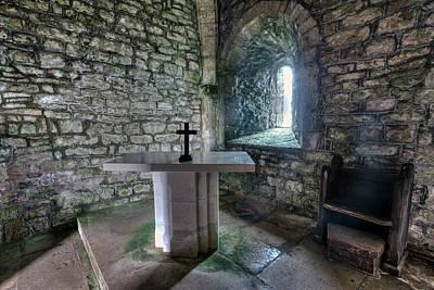 St Adhelm's Chapel - England Poster