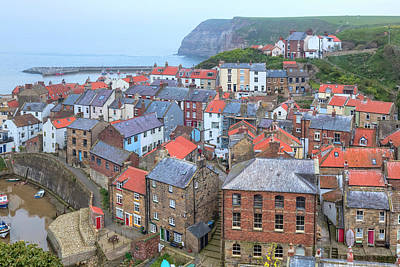 Staithes - England Poster by Joana Kruse