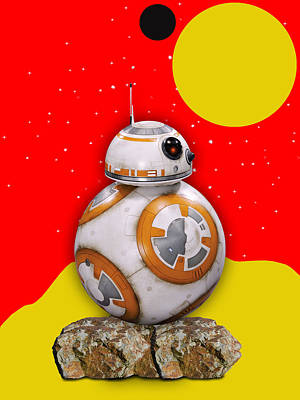 Star Wars Bb8 Collection Poster