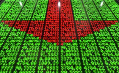 Stock Market Digital Board Poster