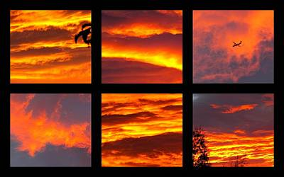 Sunrise 6.30  Poster by Joyce Woodhouse