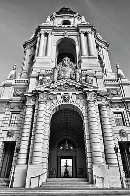 The Beautiful Pasadena City Hall. Poster by Jamie Pham