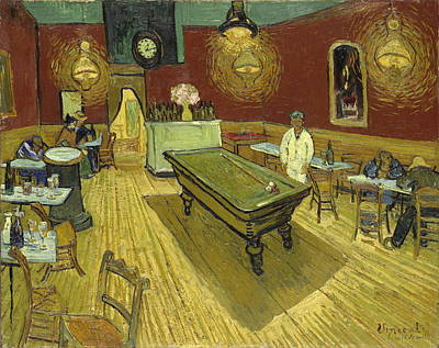 The Night Cafe  Poster by Vincent Van Gogh
