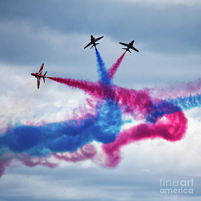 The Red Arrows Poster by Nichola Denny