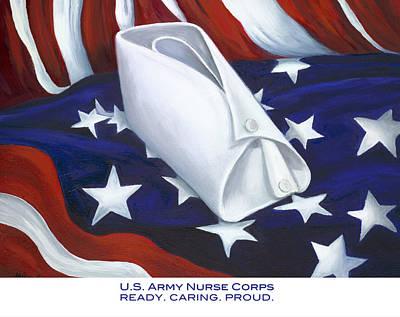 U.s. Army Nurse Corps Poster