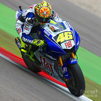 Valentino Rossi Poster by Henk Meijer Photography