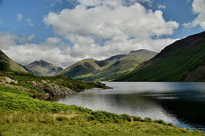 Wastwater Lake District Poster by Sarah Couzens