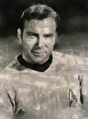 William Shatner Star Trek's Captain Kirk Poster