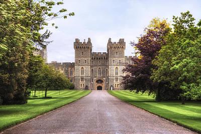 Windsor Castle Poster by Joana Kruse