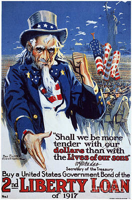 World War I: Liberty Loan Poster