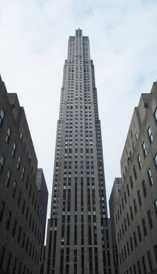 Poster featuring the photograph 30 Rockefeller Center by Christopher Kirby