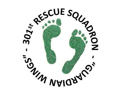 301st Rescue Squadron Poster by Julio Lopez