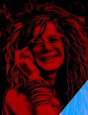 Janis Joplin Collection Poster