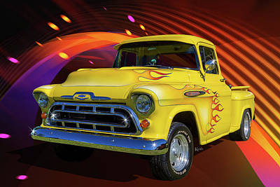 3100 Chevy Poster by Keith Hawley