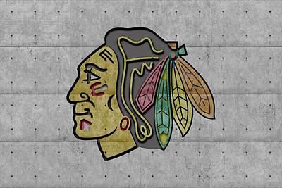 Chicago Blackhawks Poster