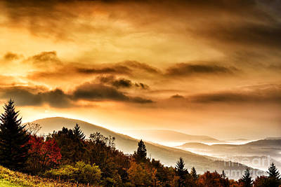 Allegheny Mountain Sunrise Poster