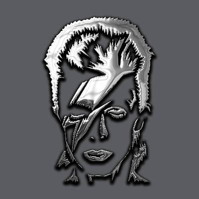David Bowie Collection Poster by Marvin Blaine