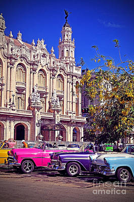 Havana Cuba Poster by Chris Andruskiewicz