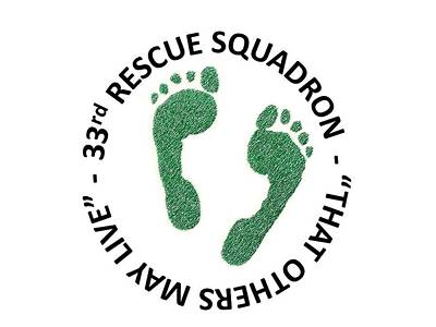 33rd Rescue Squadron Poster