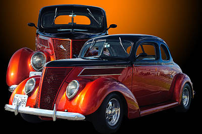 35 Ford Poster by Jim  Hatch