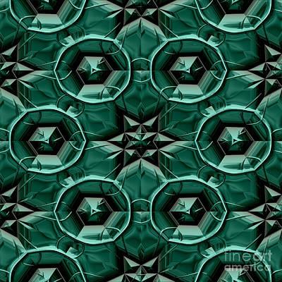 Mayan Ornaments Poster by Miroslav Nemecek