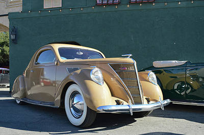 37 Lincoln Zephyr Poster