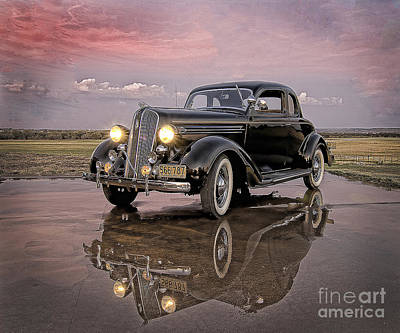 36 Plymouth Reflections Poster