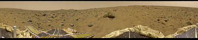360 Degree Panorama Mars Pathfinder Landing Site Poster