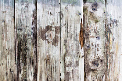 Weathered Wood Poster