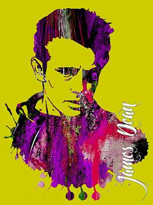 James Dean Collection Poster