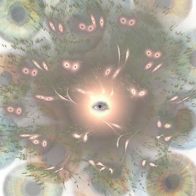 3d Illustration Of Sperm Going For An Egg Poster