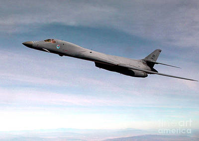 B-1 Lancer Poster by Air Force