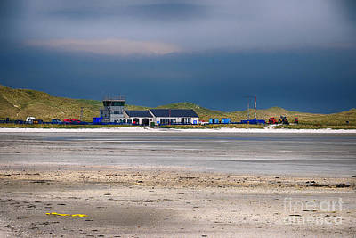 Barra Airport Poster by Nichola Denny