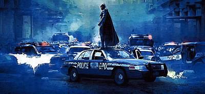 Batman 1 Poster Poster by Egor Vysockiy