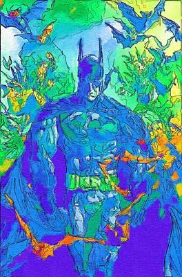 Batman Kids Poster Poster by Egor Vysockiy